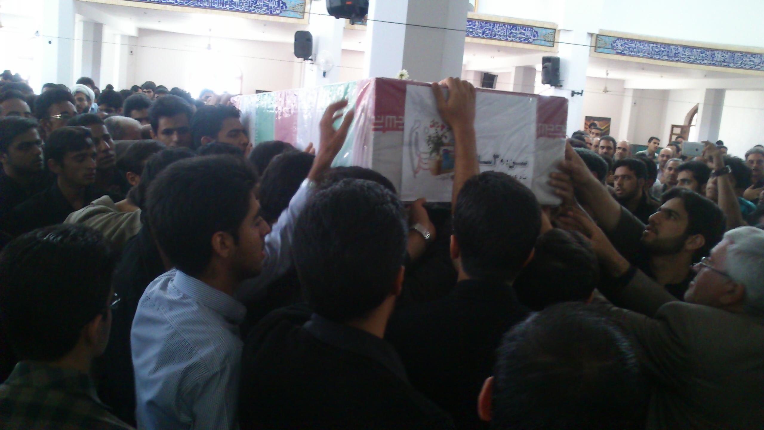 مهمان ویژه امروز دانشگاه یزد